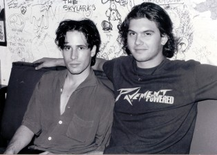 Jeff Buckley and Michael Tighe